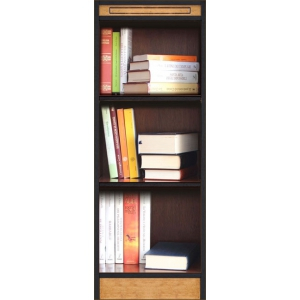 modular composition, wood bookcase, Arteferretto, wood cabinet
