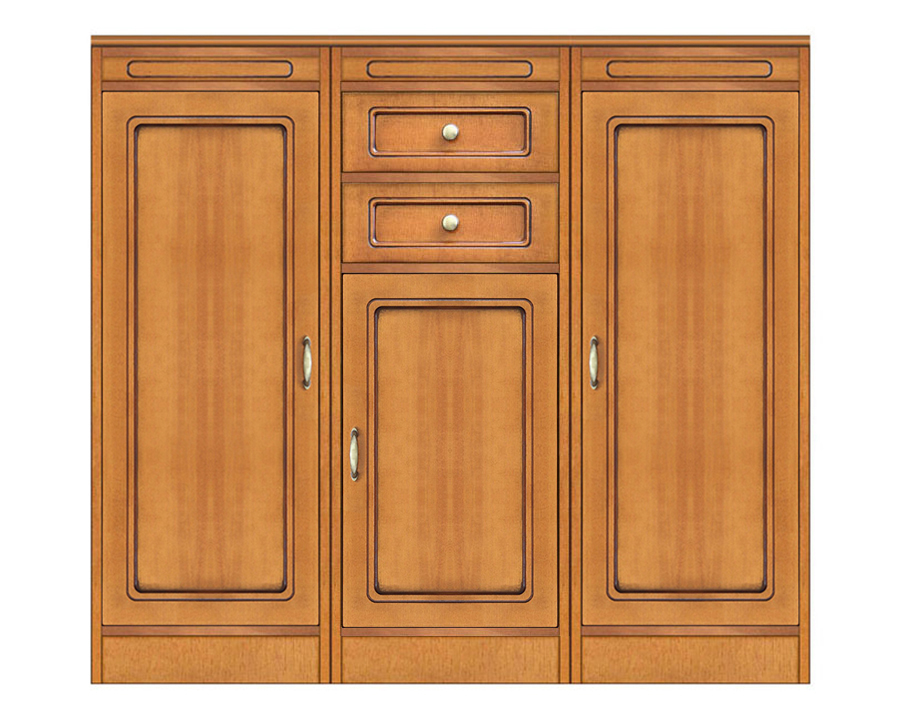 multifunctional sideboard, wooden sideboard, wooden cupboard, classic sideboard, Arteferretto