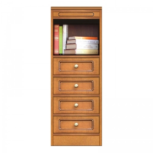 4-drawer modular sideboard, space saving sideboard, italian furniture, arteferretto