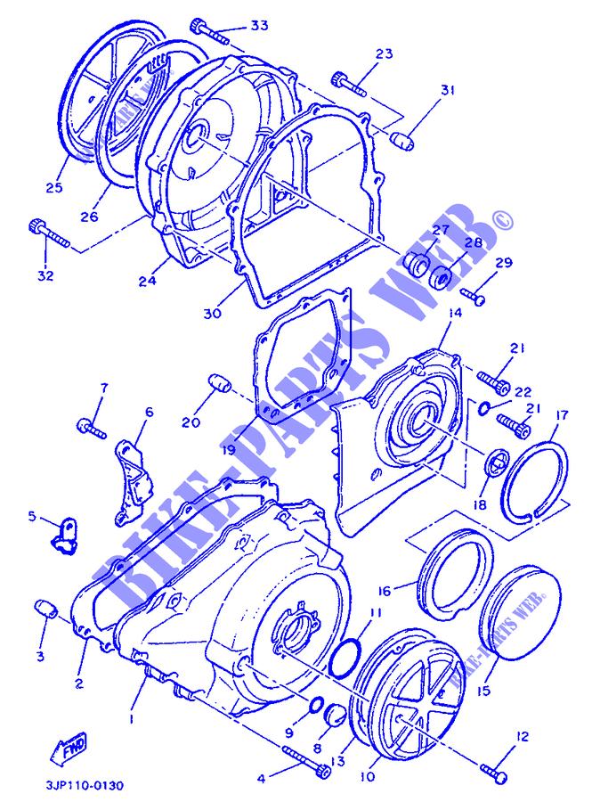 Guarnizione Coperchio Generatore Yamaha V-Max/XVZ