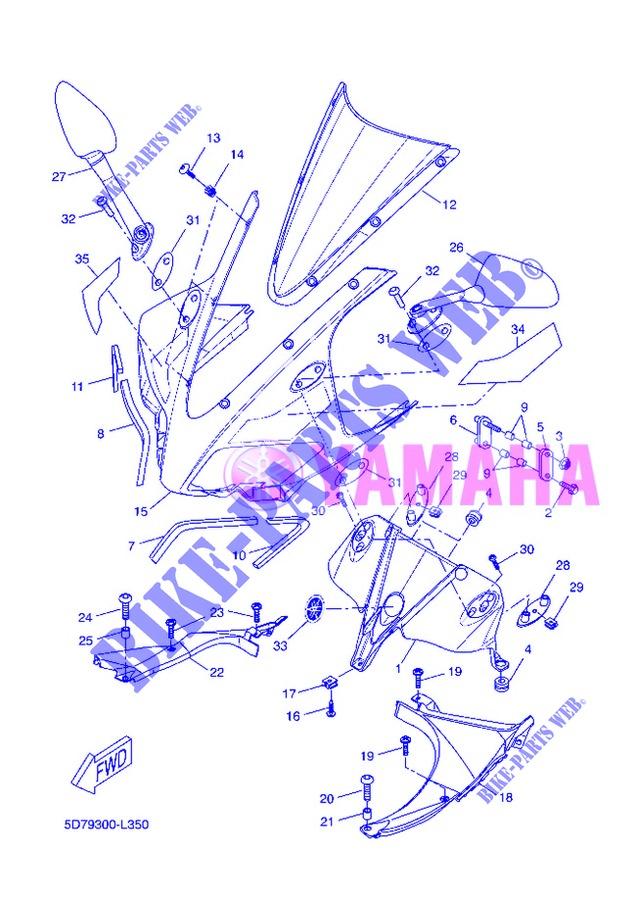 GuarnizioneYamahaYZF-R125