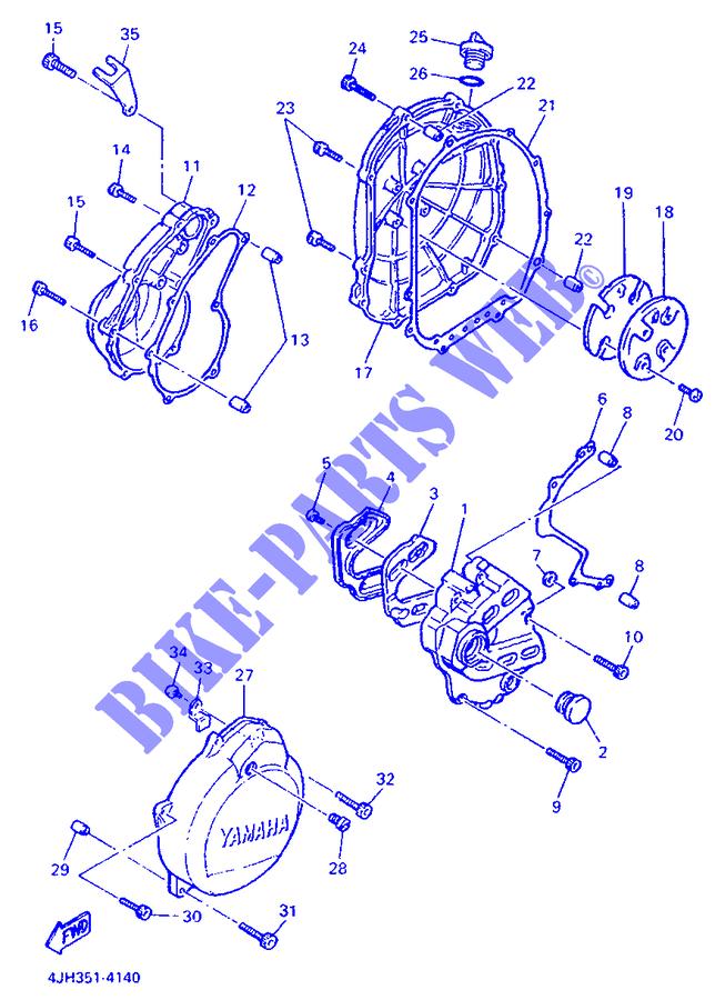 Guarnizione Coperchio Carter Yamaha FZR-R/Fazer/Thunder Cat