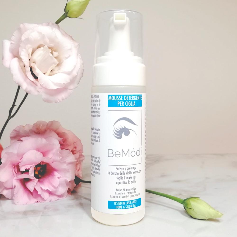 Schiuma detergente per le ciglia/viso 170 ml