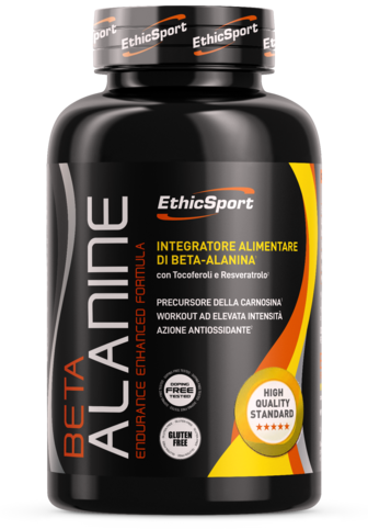 EthicSport Beta Alanina - Endurance Enhanced Formula da 90 cpr