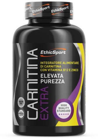 EthicSport Carnitina Extra Barattolo Da 90 Cpr