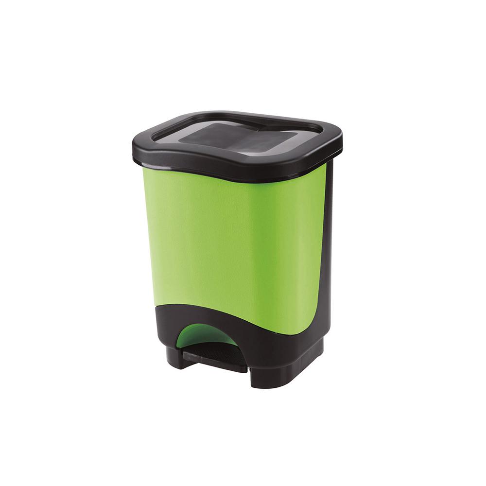 Pattumiera a Pedale Idea 18 Litri Verde