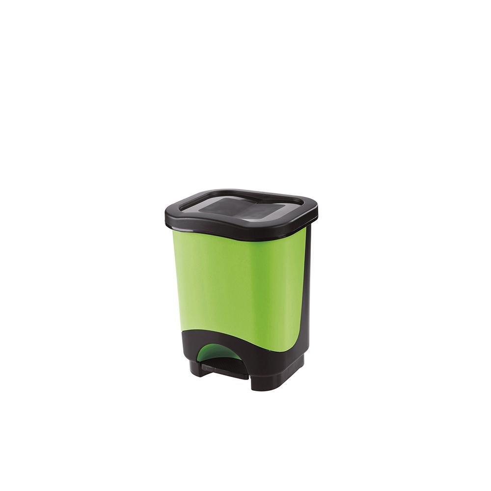 Pattumiera a Pedale Idea 8 Litri Verde