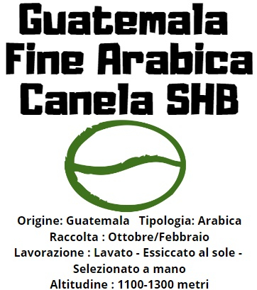 Guatemala Fine Arabica Canela SHB