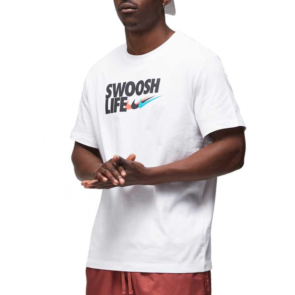 Nike T Shirt Swoosh Life da Uomo