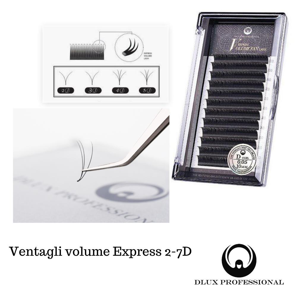Pestañas Express Volume Easy Fan, DLux Professional