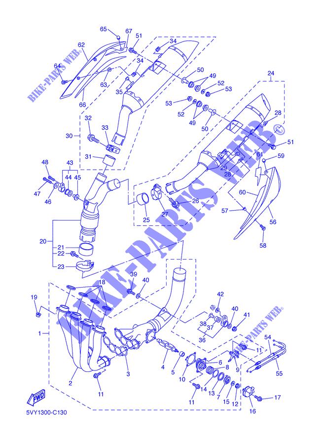 Cavo Apertura Valvola Exup Yamaha YZF-R1