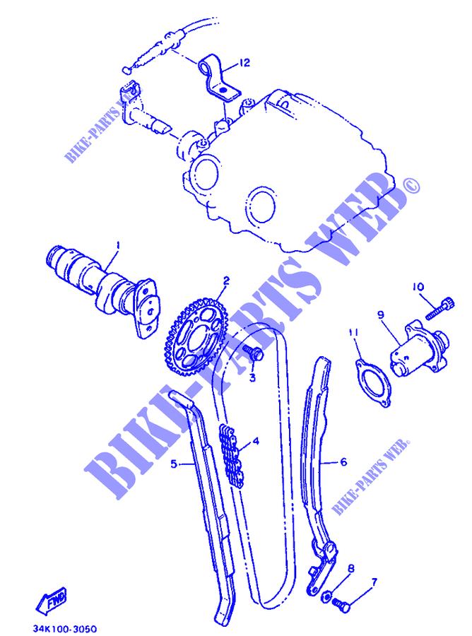 Ingranaggio Albero A Camme Yamaha SRX/XT/XT Tenere/TT