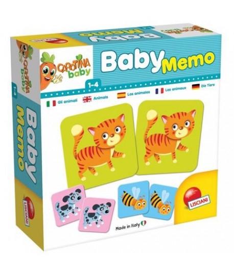 Carotina Baby Memo Animali