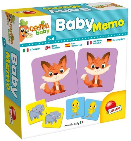 Carotina Baby Memo Cuccioli