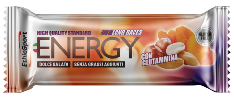 EthicSport ENERGY LONG RACES DOLCE-SALATO - 30 barrette da 42g