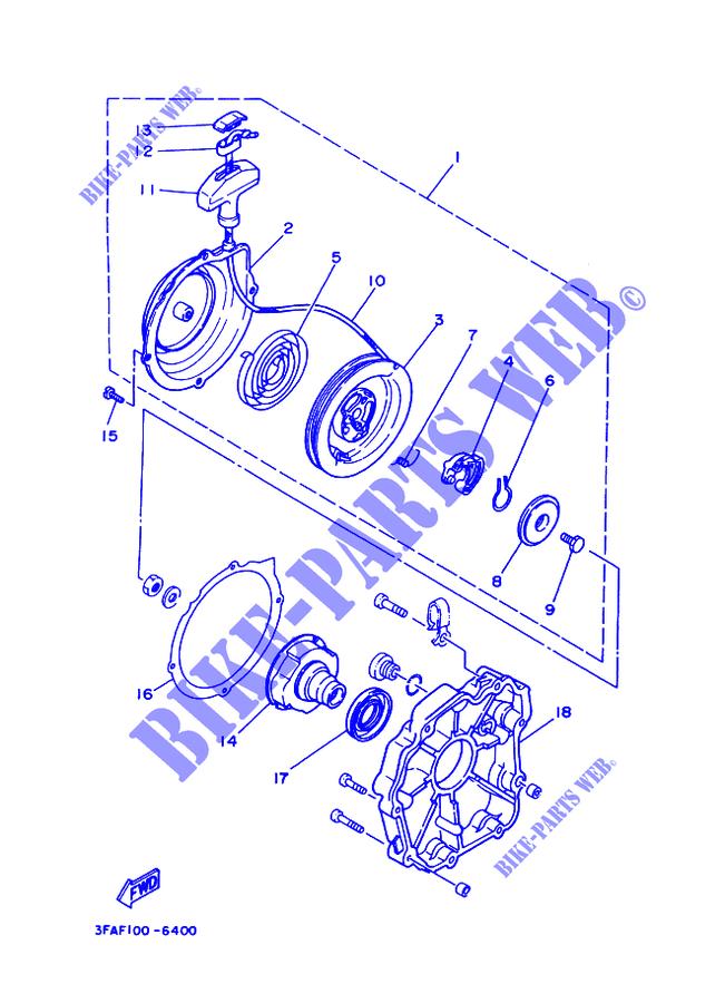 Guarnizione Yamaha ATV Breeze 125