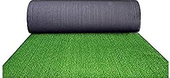 Rotolo prato verde sintetico per arredo giardino esterno 1x25mt spessore 8mm