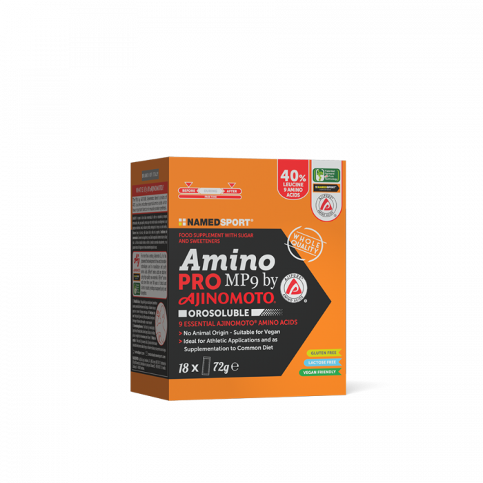 NAMEDSPORT AMINOPRO MP9 OROSOLUBLE - 18 STICKS