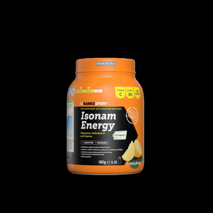 NAMEDSPORT ISONAM ENERGY LEMON - 480G