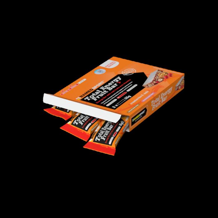 NAMEDSPORT TOTAL ENERGY FRUIT BAR  CRANBERRY & NUTS - MULTIPACK 3 PZ