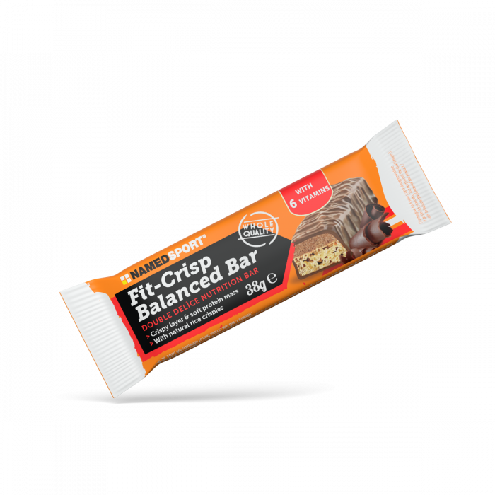 NAMEDSPORT FIT CRISP BALANCED BAR EXQUISITE CHOCOLATE - 38G