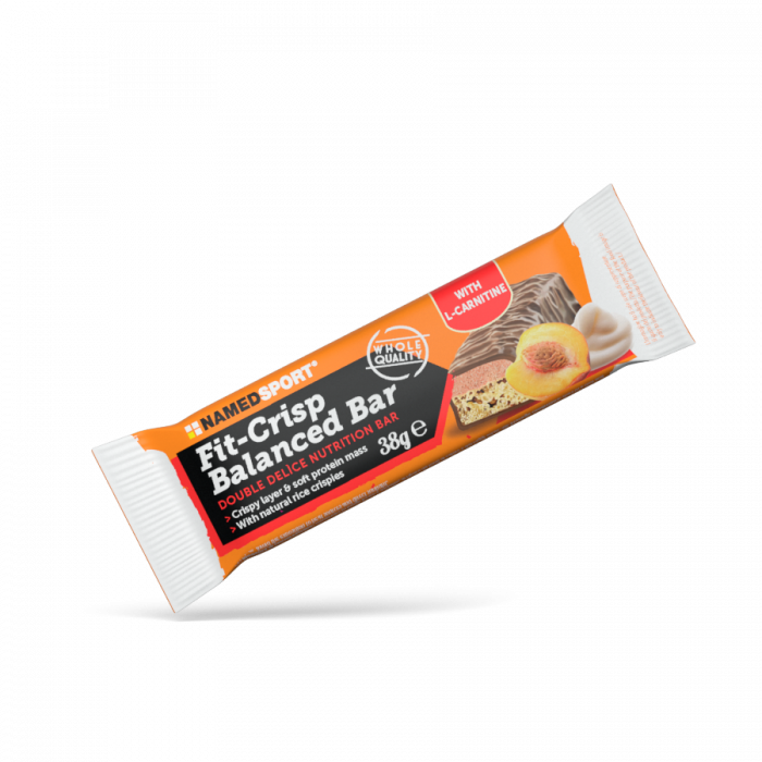 NAMEDSPORT FIT-CRISP BALANCED BAR YOGURT PEACH - 38G
