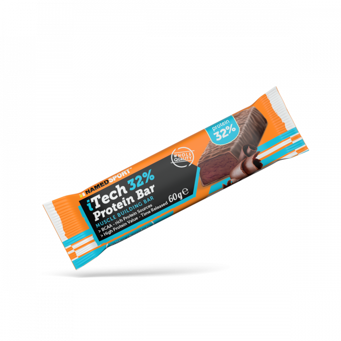 NAMEDSPORT ITECH 32% PROTEIN BAR MILKY CHOCOLATE - 60G