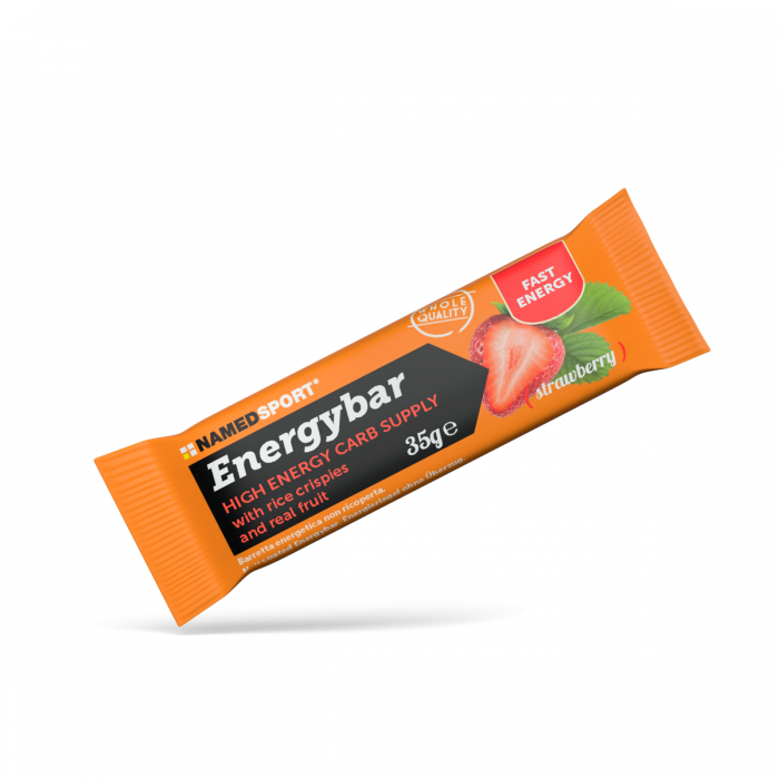 NAMEDSPORT ENERGYBAR STRAWBERRY - 35G
