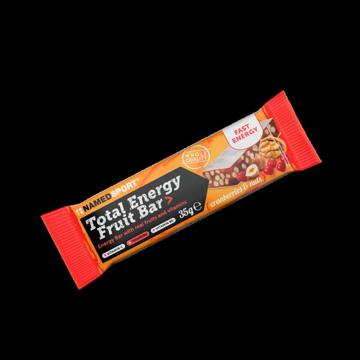 NAMEDSPORT TOTAL ENERGY FRUIT BAR CRANBERRY & NUTS - 35G