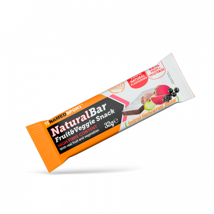 NAMEDSPORT NATURALBAR BEETROOT BLACK CURRANT - 32G