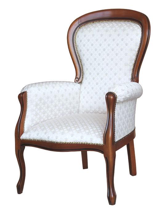 Sessel Louis Philippe mit Polsterung