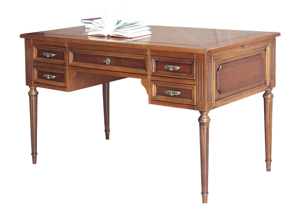 Schreibtisch Louis XVI Holzplatte