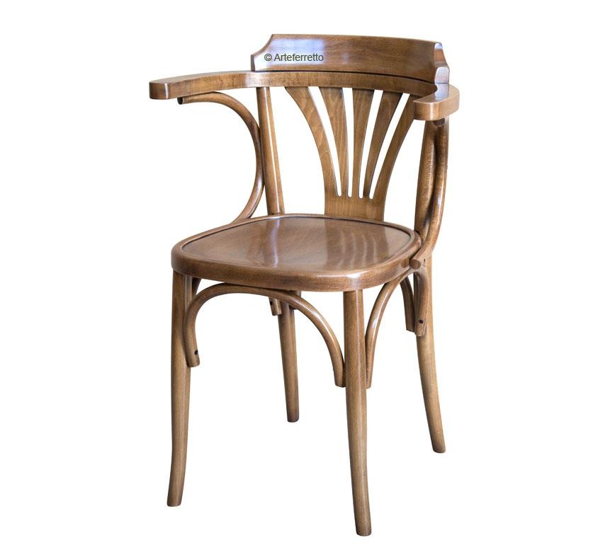 Stuhl Design Holzsitz aus Buchenholz