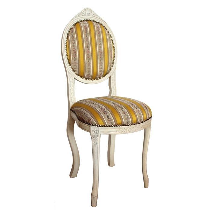 Kleiner Stuhl Ovalina  lackiert