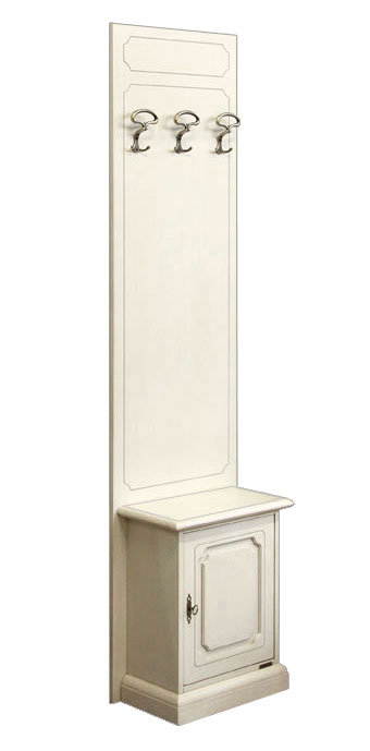 Garderobe-Set 50 cm Truhe + Paneel