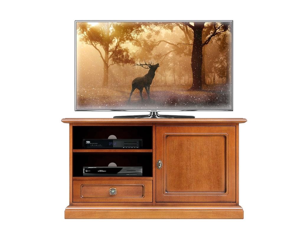 Meuble Tv midi 1 porte 1 tiroir