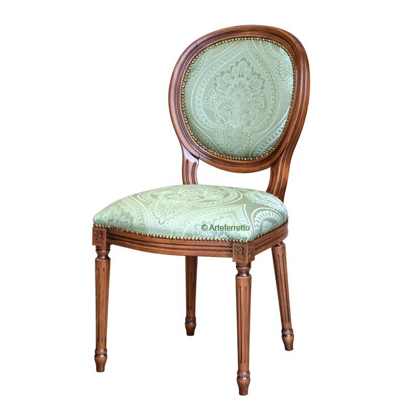 Stuhl Klassischer Stil gepolstert