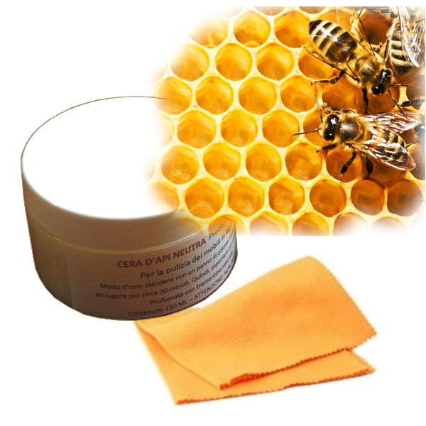 Cire d'abeilles pour l'entretien des meubles