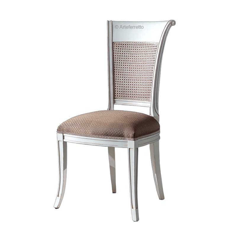 Chaise en paille de Vienne