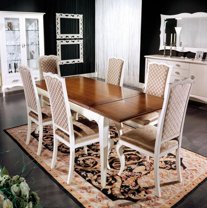 Eleganter Tisch ausziehbar aus Holz 170-220 cm