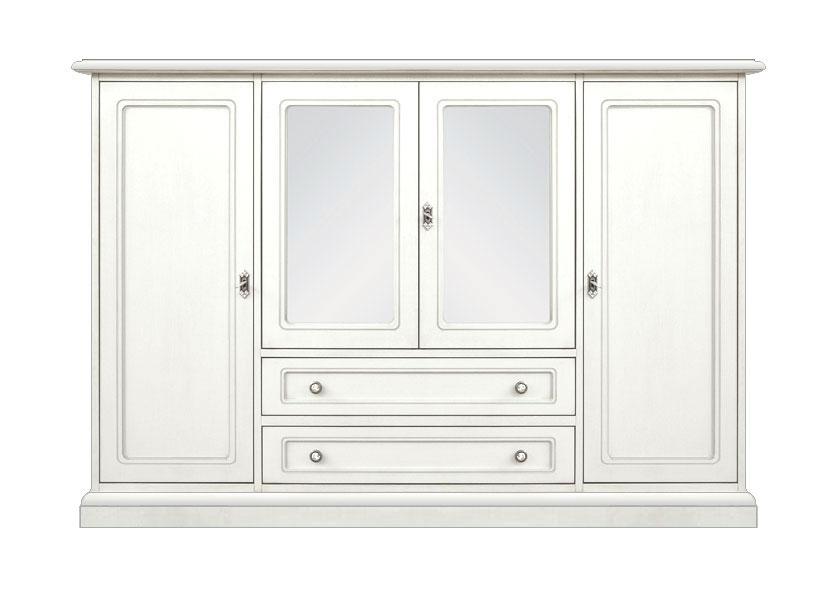 Grand Meuble Buffet laqué 4 portes 2 tiroirs