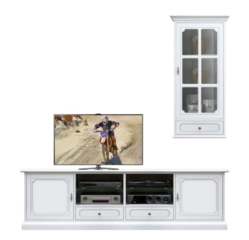 Composition meubles coin TV