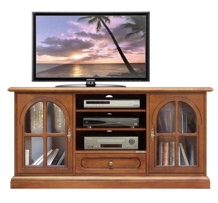 Regal TV klassisch aus Holz Wohnzimmer
