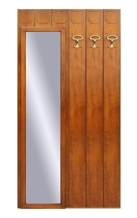 Vestiaire d'entrée avec miroir et 3 crochets