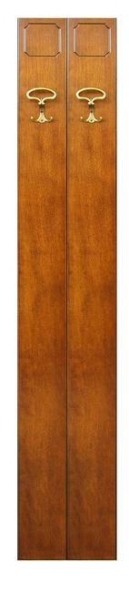 Porte manteau vestiaire 2 éléments en bois