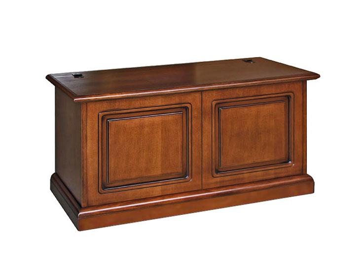 Coffre de rangement classique en bois
