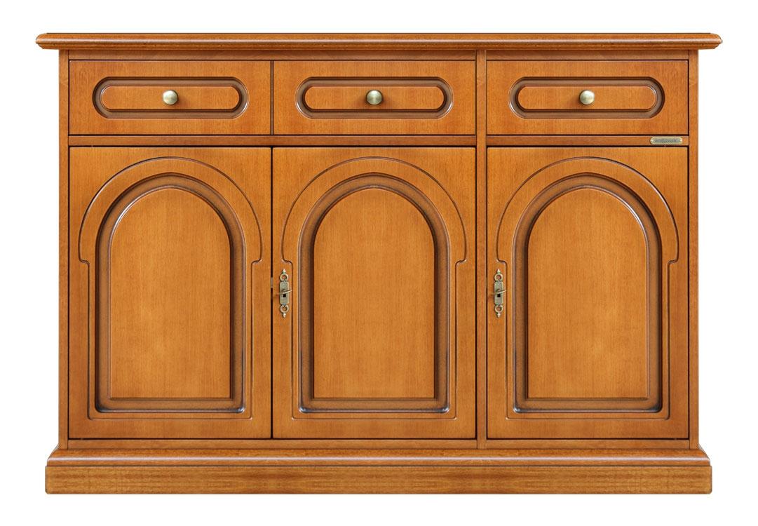 Anrichte Stilmöbel 3 Türen 2 Schubladen