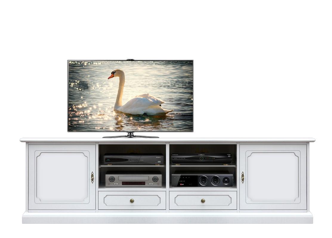 TV-Schrank Elfenbein 2 Türen