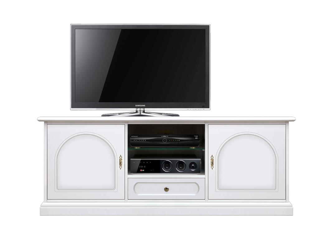 Lowboard TV weiß 150 cm