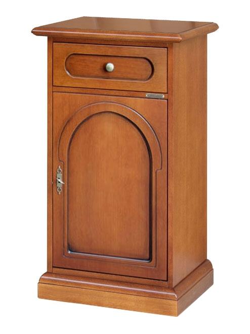 Table téléphone style classique en bois